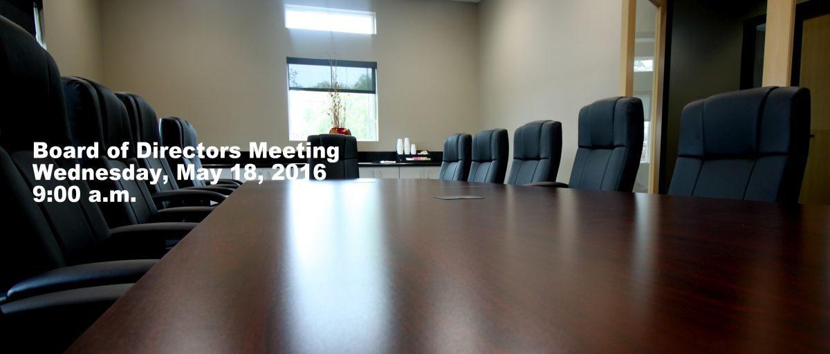 Permalink to: May Board of Directors