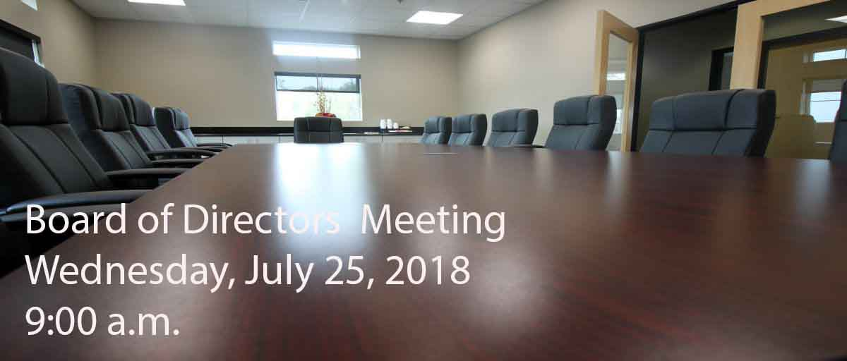 Permalink to: July Board of Directors
