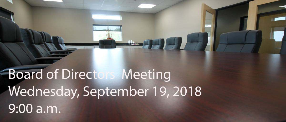Permalink to: September Board of Directors